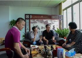 中国文化办公设备制造行业协会冷欣新秘书长莅临阳光科密工厂参观交流